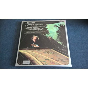 Haydn Concerti Divertimenti  Koopman BOX 4LP