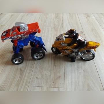 Składane auto oraz motor z dźwiękiem