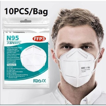 Maska maseczka  ochronna FFP3 KN95 CE
