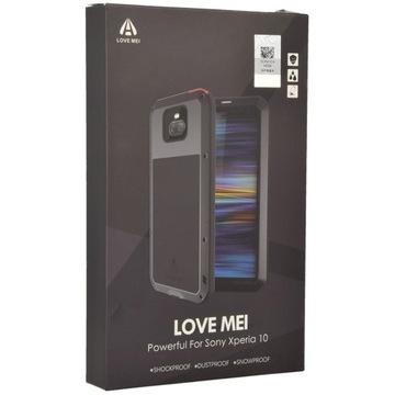 Etui + szkło Love Mei Powerful do Sony Xperia 10