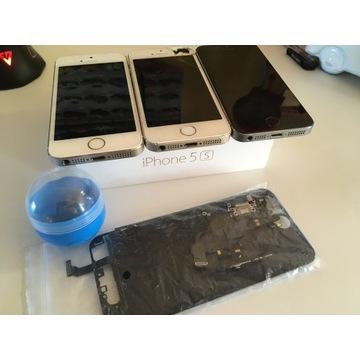 ZESTAW Apple iPhone 5s, iPhone 6 + pudełko