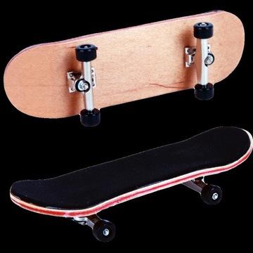 Drewniany fingerboard zestaw mini deskorolka