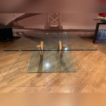 Stół szklany VINOTTI seria Logo Roco
