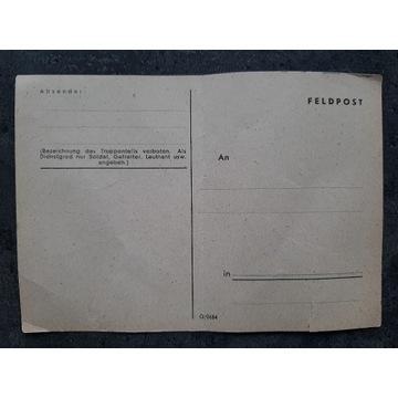 stare karty pocztowe, niewypełnione