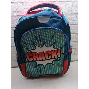 Plecak szkolny chłopięcy