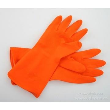 Gumowe rękawice ochronne