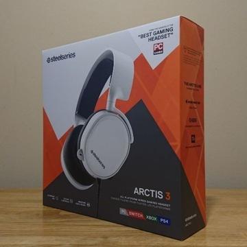 SteelSeries Arctis 3 White *NOWE*