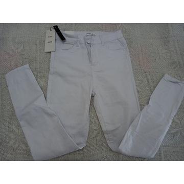 Spodnie Goodies białe nowe 36 promocja