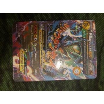RZADKA KARTA Pokemon mega rayquaza ex 61/108