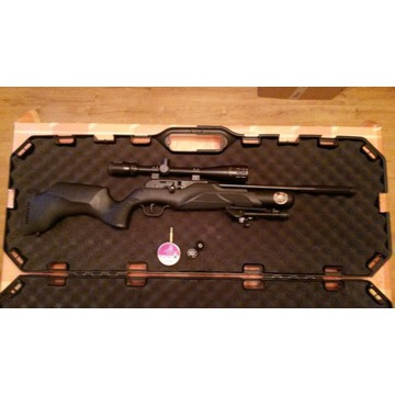Walther Rotex RM8 4.5 mm + Bushnell Banner 6-24x40