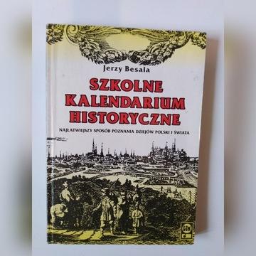 Szkolne kalendarium historyczne
