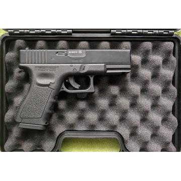 Zestaw Glock 19 WIATRÓWKA i dużo dodatków