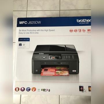Brother J625D drukarka fax i ksero