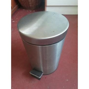 Kosz na śmieci np. łazienkowy wys. 26 cm śr. 17