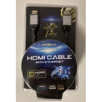 Kabel HDMI 7,5m