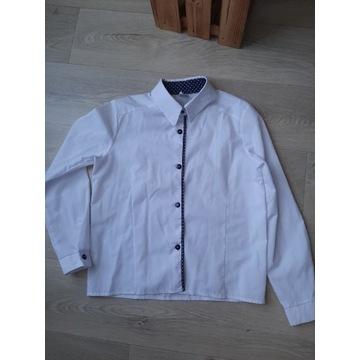 Biała bluzka wizytowa do szkoły 152