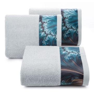 Ręcznik Chiara 50x90 Eva Minge srebrny
