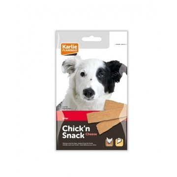 Chick'n snack cheese strips 85g