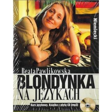 Blondynka na językach Niemiecki + CD NOWA folia