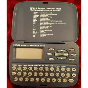 Słownik słowniczek elektroniczny przenosny Ectaco