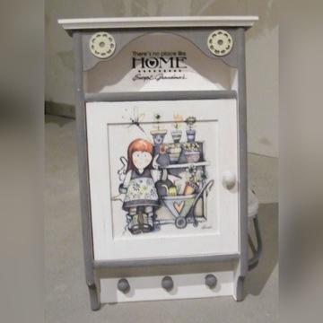 Szafeczka szafka organizer na klucze, na prezent