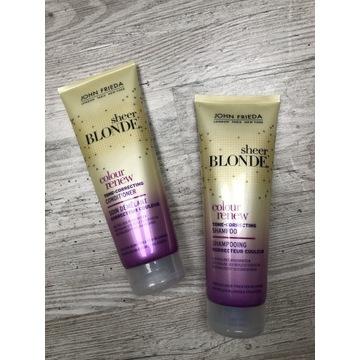 John Frieda sheer blonde zestaw szampon odżywka