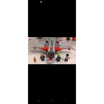 LEGO 76127 super Heroes Kapitan Marvel i atak