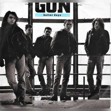 "Gun - Better Days - 1989 - Vinyl, 7"", Single"