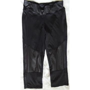 Crivit nowe damskie sport czarne legginsy r 36/38
