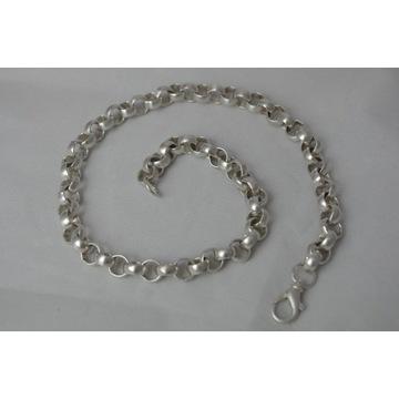 masywny łańcuch srebrny