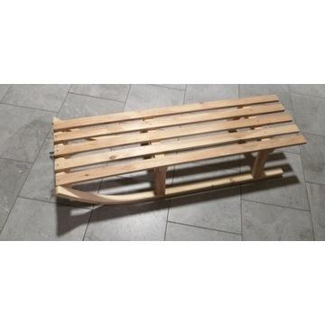 Sanki drewniane bukowe kuligowe Mocno Hit