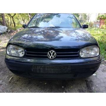 Volkswagen Golf IV maska zderzak kompletny przód