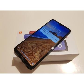 Xiaomi Redmi 8 4/64GB Black 3xEtui,Szkło,Gwarancja