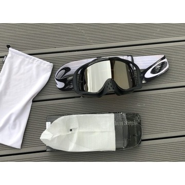 gogle enduro MX cross Oakley Crowbar 2 szybki