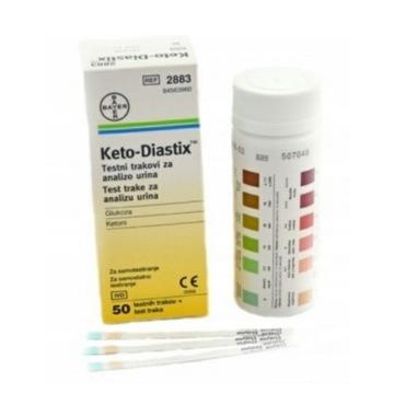 Keto-Diastix ketony glukoza paski keto diastix 50