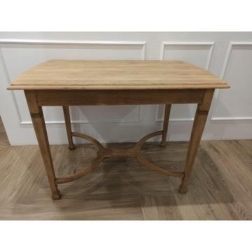 Stół biurko dębowy lity dąb secesja