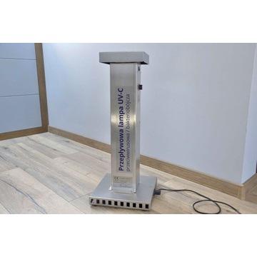 Przepływowa lampa UV-C Wirusobójcza/bakterjobójcza