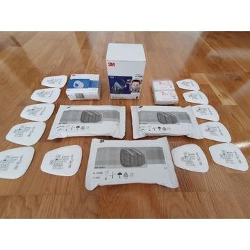 Maska półmaska 3M 7500 + zestaw 22 filtrów+gratis!