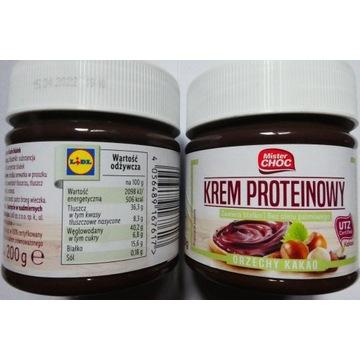 Mister Choc Orzechy Kakao - krem proteinowy  200 g