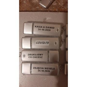 Promocja Pendrive 4GB usb2.0 10szt z napisem sreb