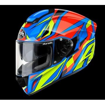 Kask integralny airoh ST501 Thunder blue gloss S