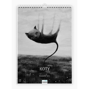 "Krzysztof Iwin - ""Koty"" v.1 kalendarz autorski"