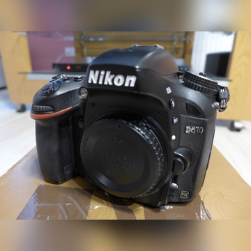 Body Nikon D610 stan bardzo dobry przeb 73tys zdj