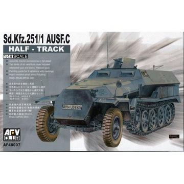 AFV Club 48007 Sd.Kfz. 251/1 ausf. C