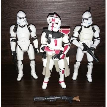 Figurki STAR WARS Clone Trooper Commander