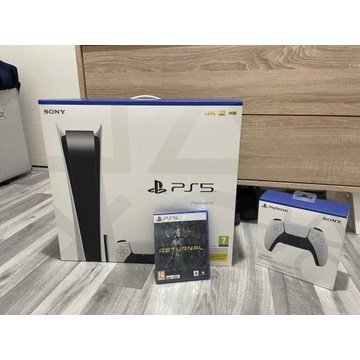Konsola PS5 z napedem Blu-ray