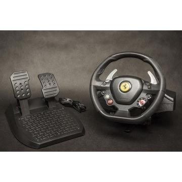 Xbox360 Kierow Thrustmaster Ferrari 458  + Forza 4