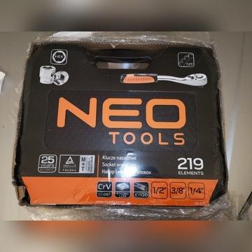 Zestaw narzędzi Neo 219 elementów