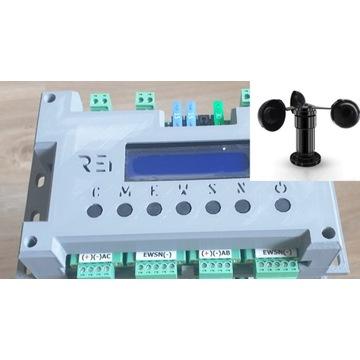 Sterownik Solar Tracker REI   V1.1 + Wiatromierz
