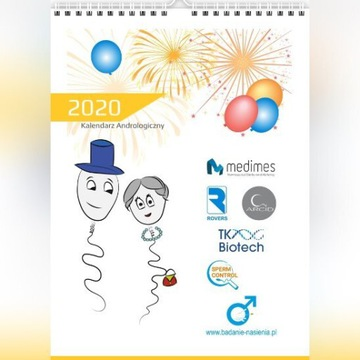 Kalendarz 2020rok z Plemnikami - humorystyczny